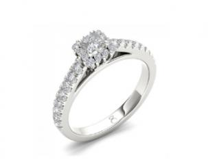 A diamond ring.